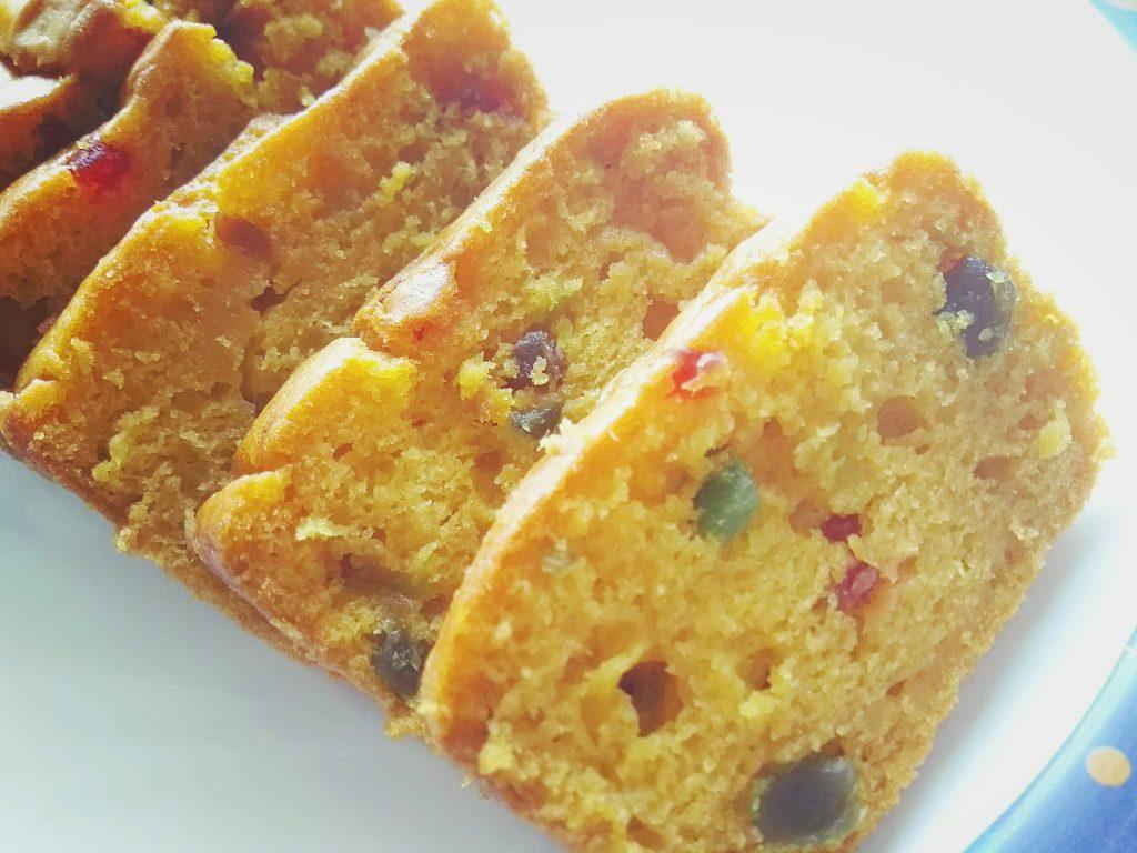 Eggless Mango Cake - Fresh mango cake recipe without using condensed milk. Perfect summer dessert.