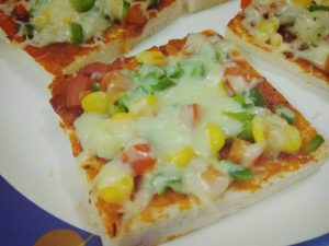 Bread Pizza – Instant alternative of Pizza