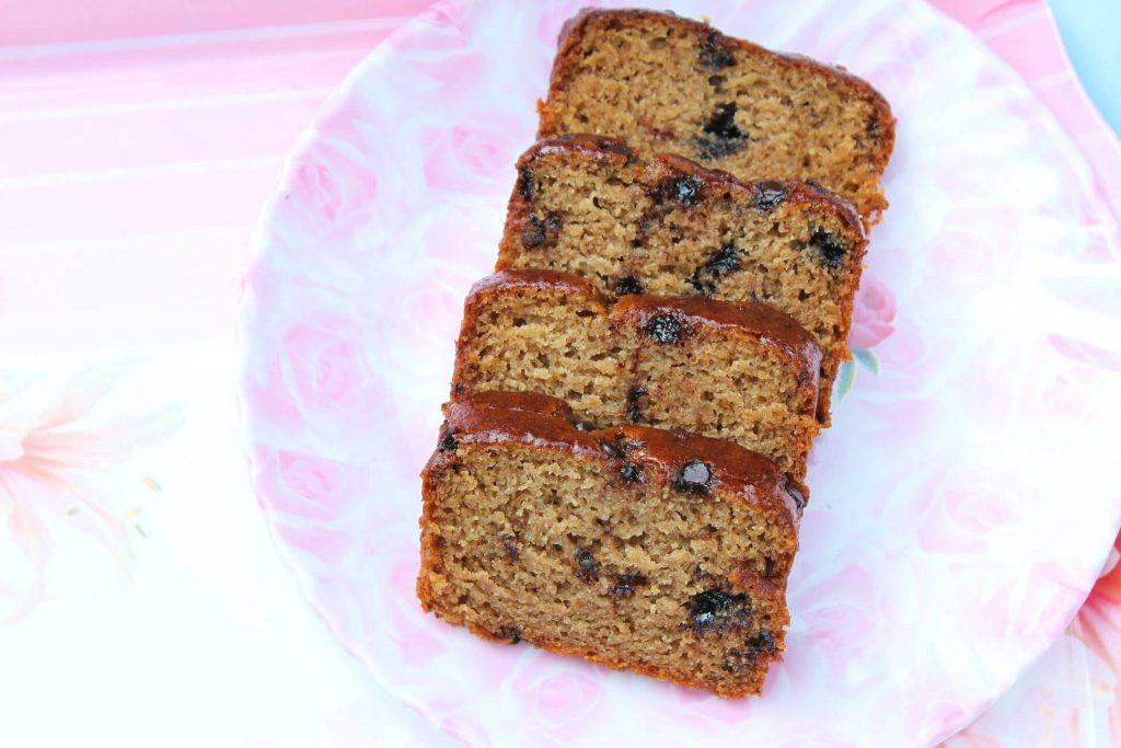 Eggless Banana Chocolate Chip Bread is a super simple one bowl recipe; add all the ingredients - one by one, bake and eat this with a hot cup of coffee or tea.