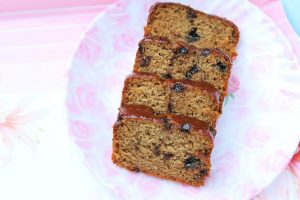 Eggless Chocolate Chip Banana Bread