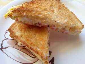 How To Make The Best Cheese Veg Sandwich