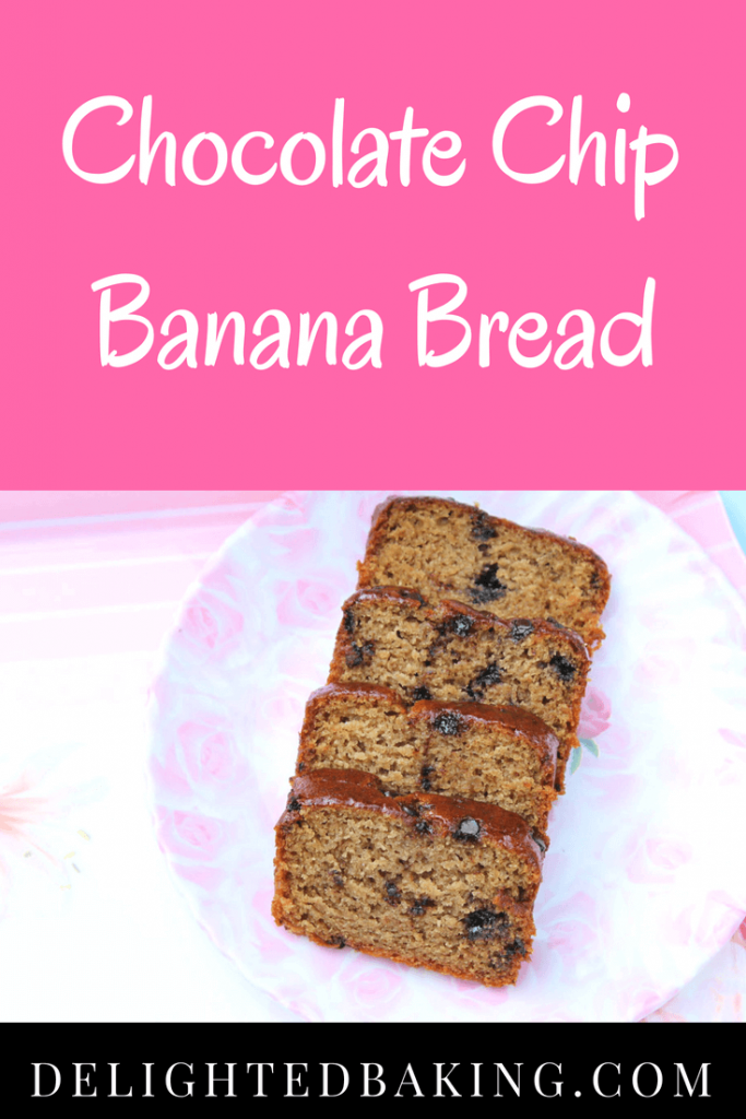 Chocolate Chip Banana Bread is a super simple one bowl recipe; add all the ingredients - one by one, bake and eat this with a hot cup of coffee or tea.