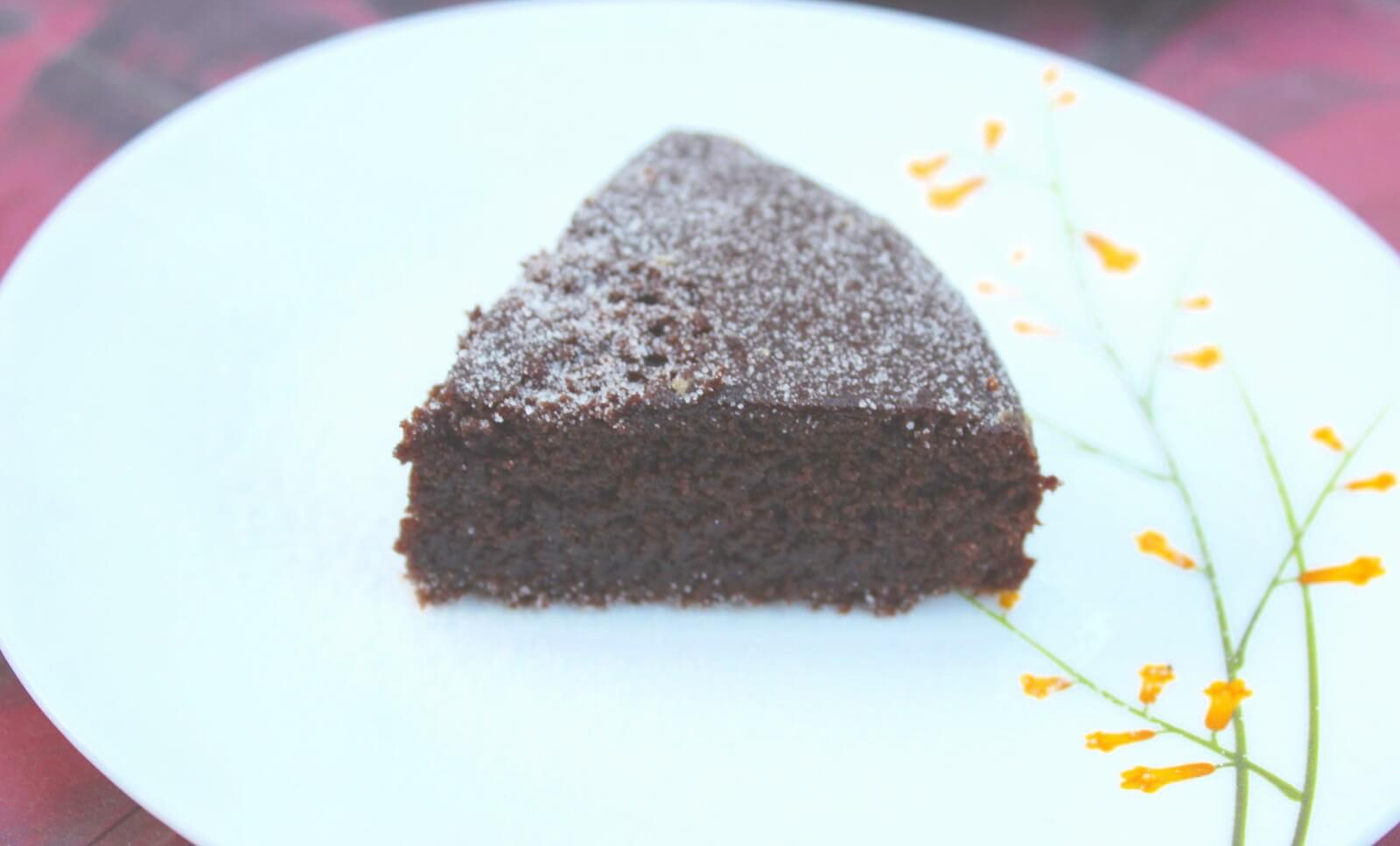 Whole Wheat Chocolate Cake / Eggless Atta Chocolate Cake - Now eat chocolate cake without worrying about unhealthy ingredients. A healthy version of the most loved cake!