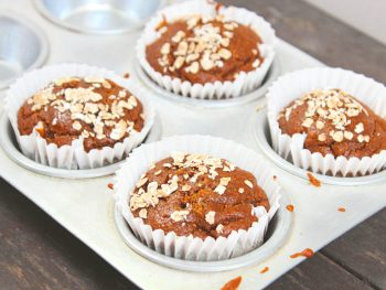Healthy Banana Oats muffins : No Sugar, No Oil and No Egg. For preparing these banana muffins, all you need is a blender jar - Add all the ingredients into the blender, blend, bake and enjoy these easy and quick banana oats muffins.