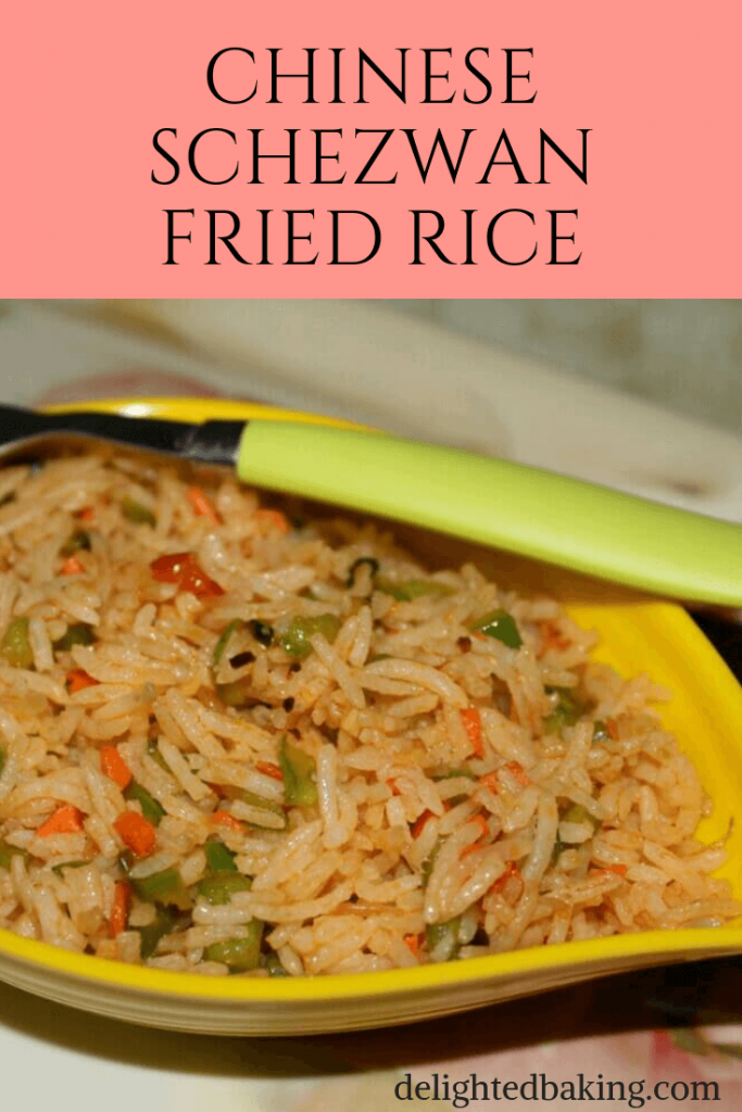 Schezwan Fried Rice : Prepare restaurant style schezwan fried rice quickly and easily at home!