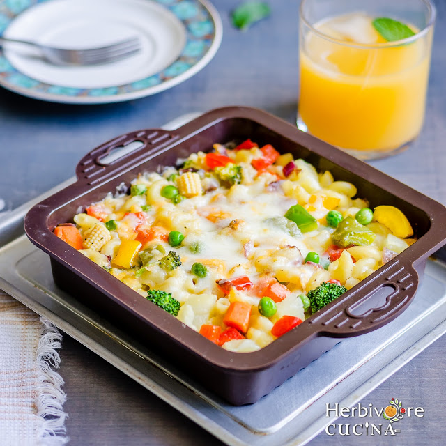 Veg Baked Pasta Recipes - Tasty, delicious and mouthwatering veg baked pasta recipes that everyone in your family would love to eat.