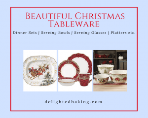 Buy The Most Beautiful Christmas Tableware and Serveware