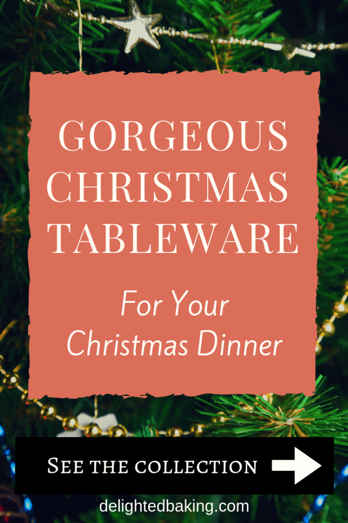Collection of Christmas themed tableware & serveware : Includes serving bowls, plates, dinner sets, glasses, platters etc. Brighten up your Christmas table with these beautiful masterpieces!