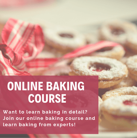 Online Baking Course : Learn baking from the comforts of your home. An online baking course for all those who want to learn baking