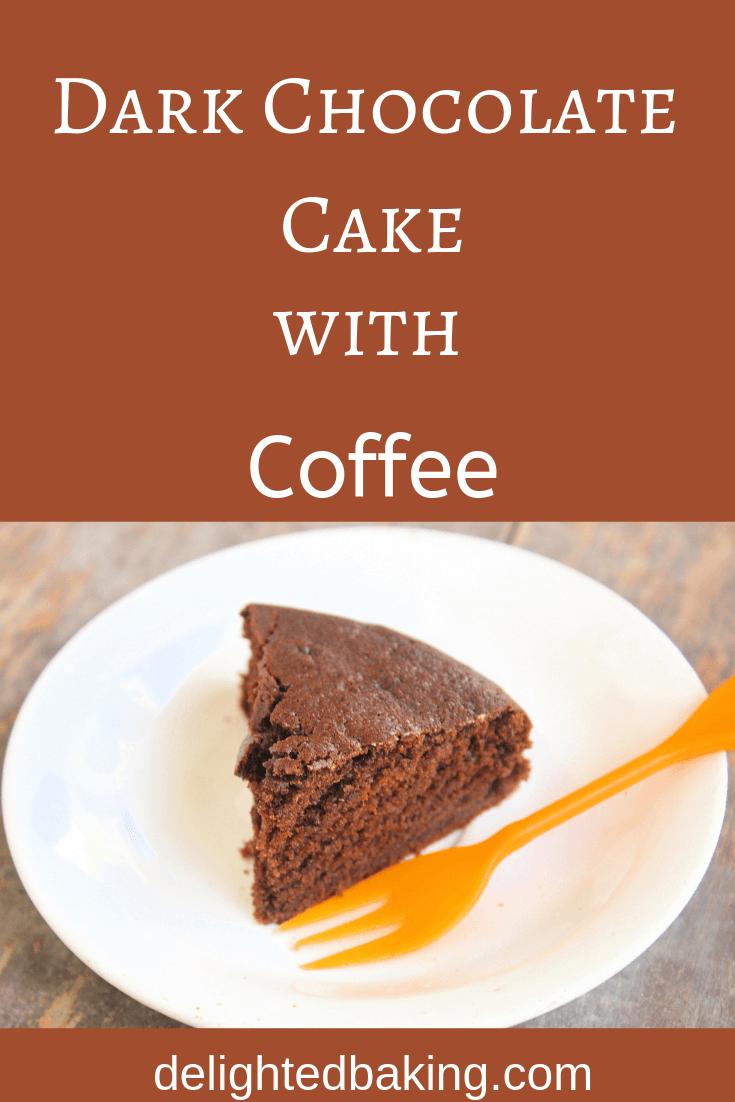Eggless dark chocolate cake recipe: 1 bowl, moist dark chocolate cake recipe from scratch. This egg-free dark Chocolate cake recipe is perfect for you if you are a fan of eggless chocolate desserts!
